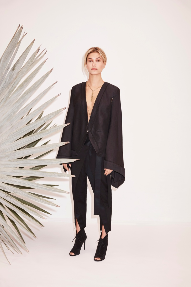 Sass & Bide unveils draped cape and pant in resort collection