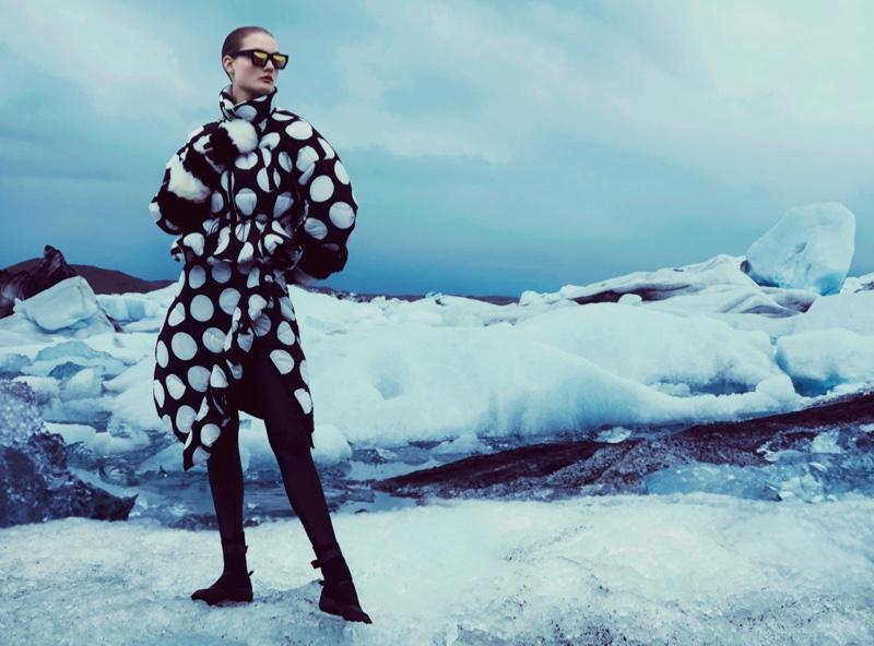 Kirsi Pyrhonen stars in How to Spend It Magazine editorial