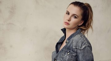 Ireland Baldwin Keeps it Casual in True Religion Campaign
