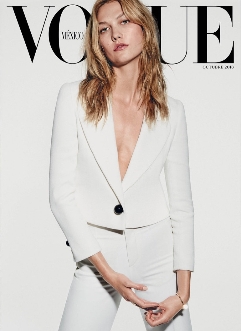 Karlie Kloss on Vogue Mexico October 2016 Cover