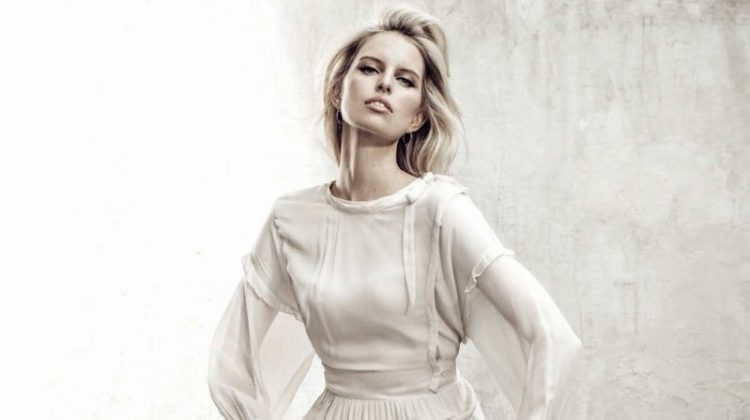 Karolina Kurkova is an Elegant Vision in the Pages of Glamour Italia