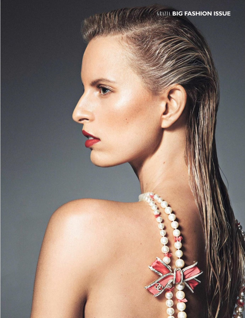 Karolina Kurkova Works It in the Fall Collections for ...