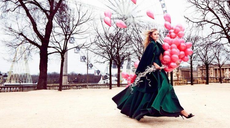Kate Grigorieva Has a Parisian Getaway in Vogue Mexico Editorial