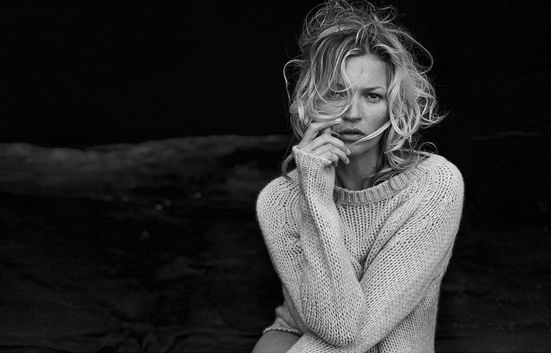 Kate Moss is Simply Stunning in Naked Cashmere Campaign
