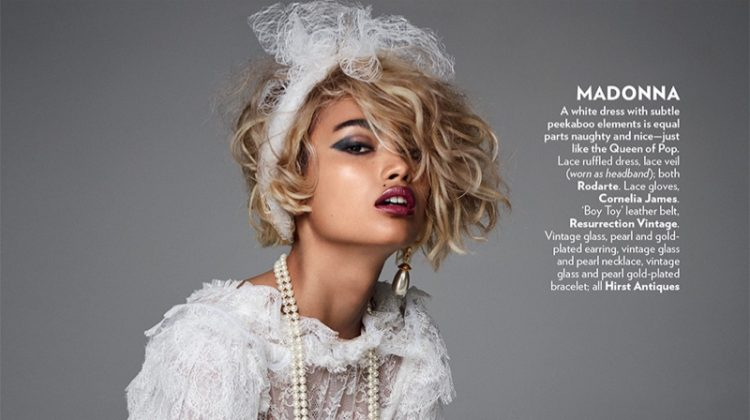 Kelly Gale Channels Pop Star Style for Vogue India