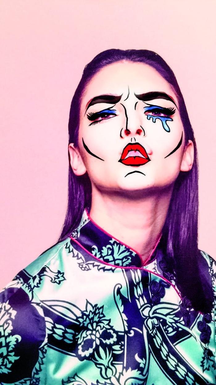 Kendall Jenner is a sad clown