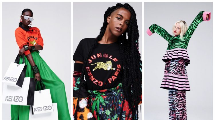 See the Kenzo x H&M Lookbook!