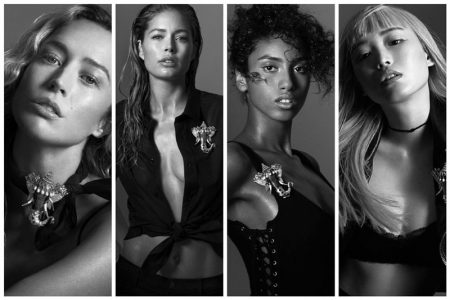 Doutzen Kroes, Imaan Hammam Front Tiffany & Co's #KnotOnMyPlanet Campaign