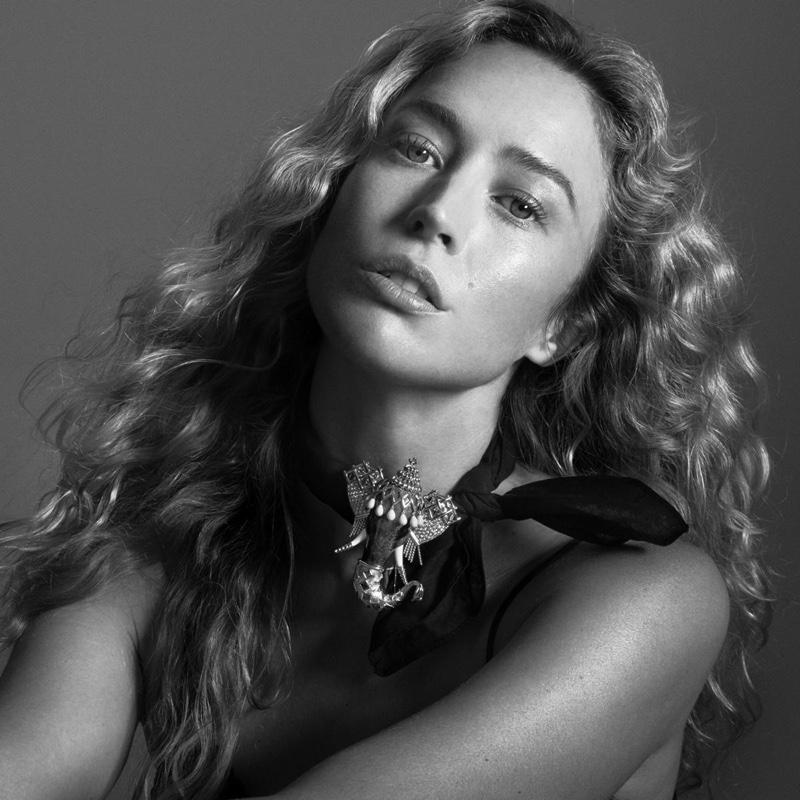 Raquel Zimmermann stars in #KnotOnMyPlanet Tiffany & Co. campaign