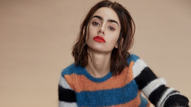 Lily Collins Shows Off Her Edgy Side for DuJour Magazine