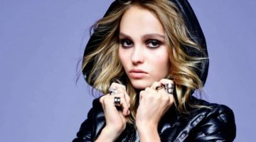 Lily-Rose Depp Poses in Casual Chic Looks for ELLE France