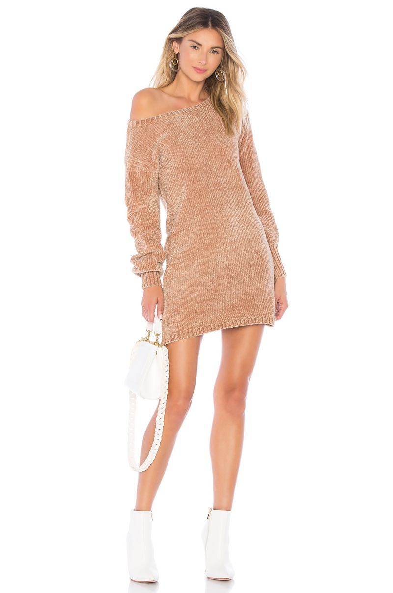 Lovers + Friends Berlin Chenille Sweater Dress $158