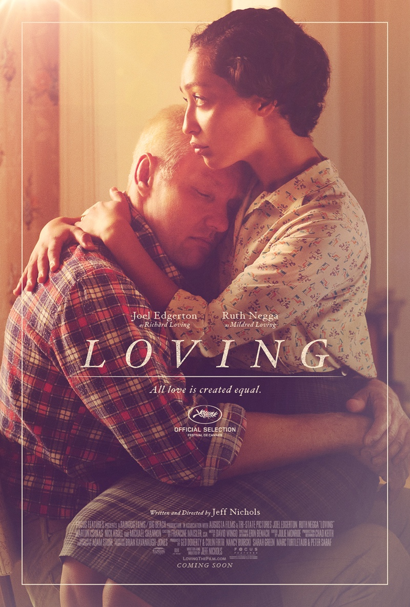 Loving movie poster with Joel Edgerton and Ruth Negga