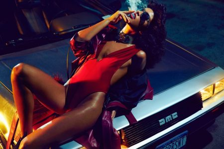 Luz Pavon Looks Smokin' Hot in Vogue Portugal Spread