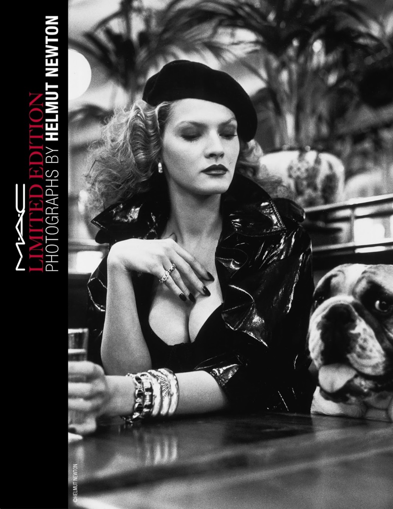 Just landed: MAC Cosmetics x Helmut Newton's seductive makeup collection