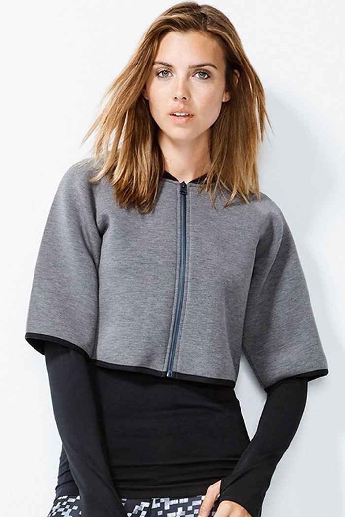 MPG by Julianne Hough Collection Calypso Cropped Jacket