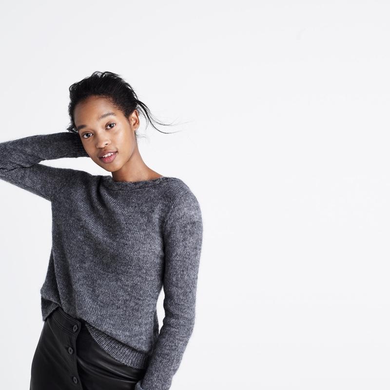 Madewell x Sézane Brigitte Sweater