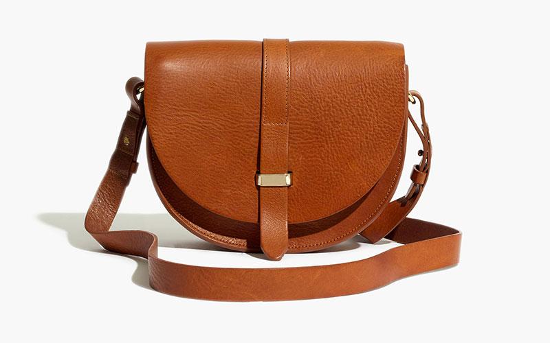 Madewell x Sézane Claude Crossbody Bag in Brown