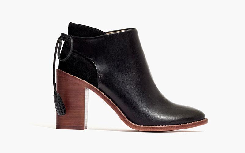 Madewell x Sézane High Heel Tassel Boots