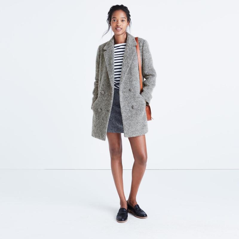 Madewell x Sézane Octave Blazer Coat