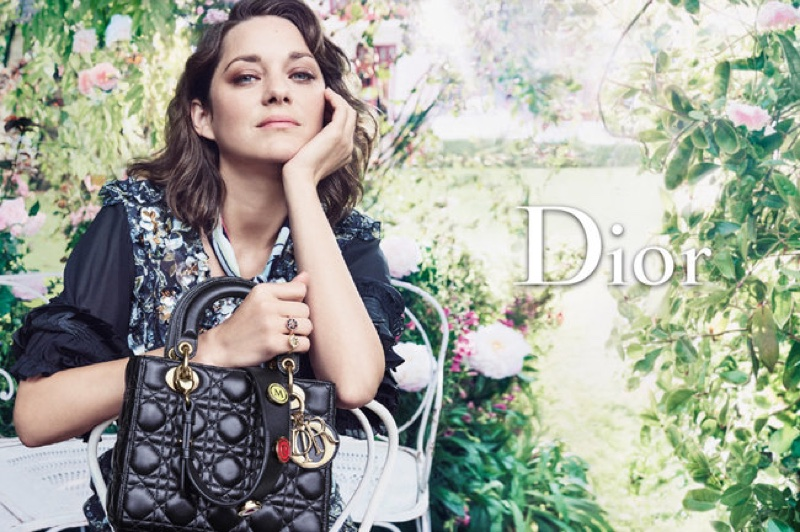 Marion Cotillard stars in Lady Dior's resort 2017 campaign