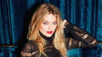 Martha Hunt is Red-Hot for Revlon