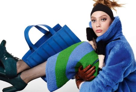 Odette Pavlova Layers Up in Max Mara's Fall 2016 Campaign