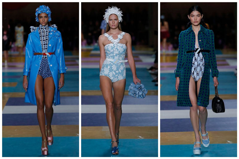 Miu Miu Heads to the Beach for Spring 2017