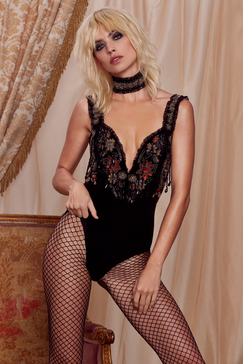 Astoria Bodysuit from Love, Courtney by Nasty Gal