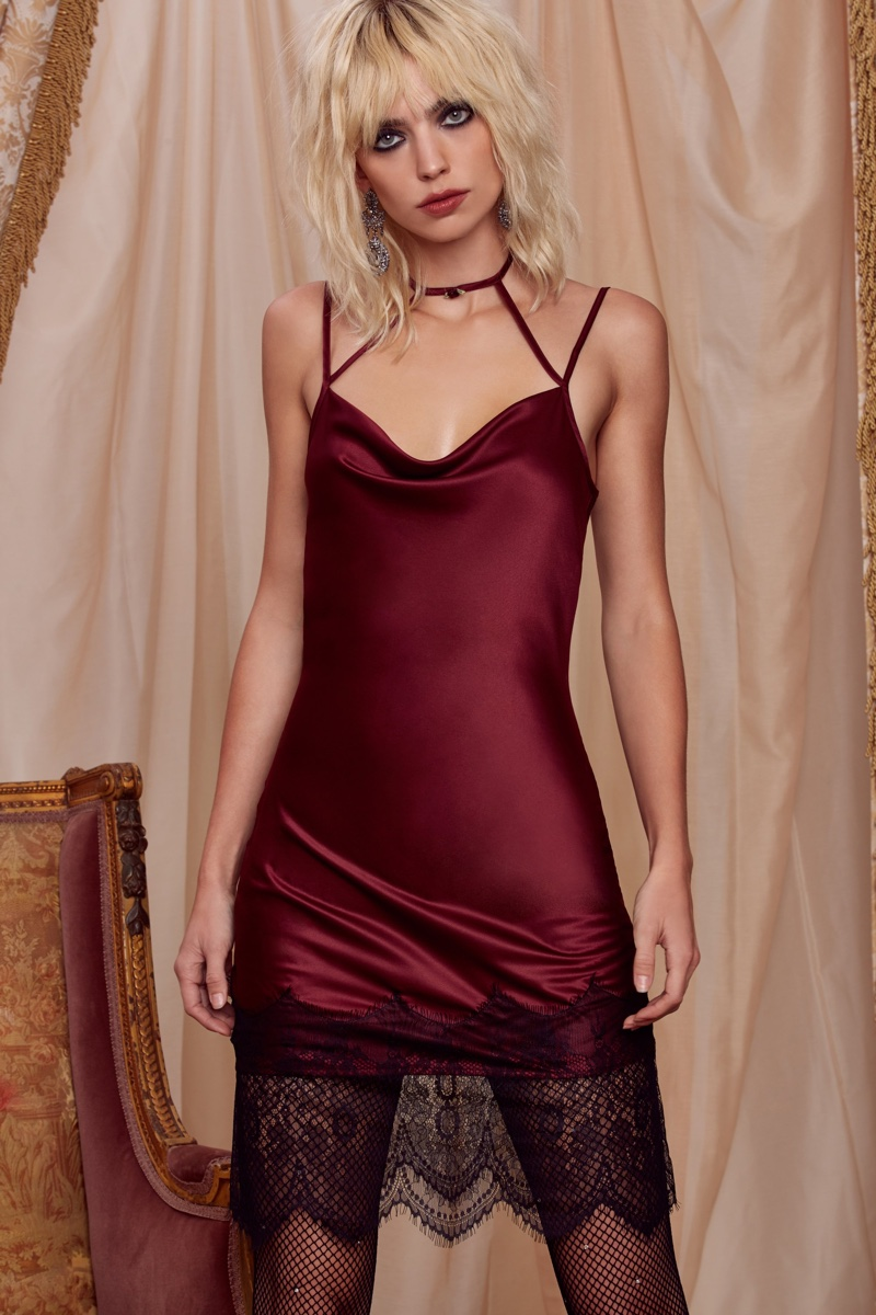 Nightmoves Slip Dress from Love, Courtney by Nasty Gal