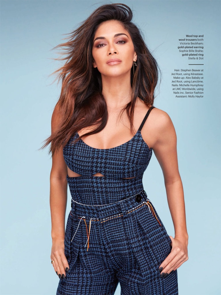 Nicole Scherzinger Stars in Glamour UK, Talks New Relationship