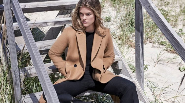Nina Agdal Explores The Hamptons for Massimo Dutti