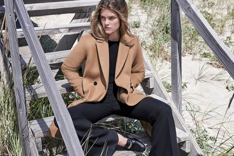 Nina Agdal appears in Massimo Dutti 'A Journey to the Hamptons' story