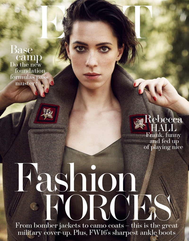 Rebecca Hall on The Edit September 29, 2016 Cover