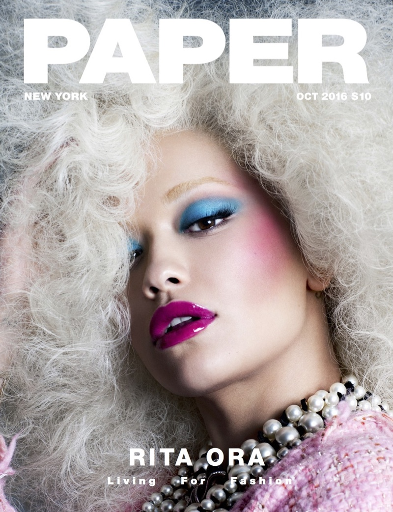 Rita Ora on Paper Magazine October 2016 Cover