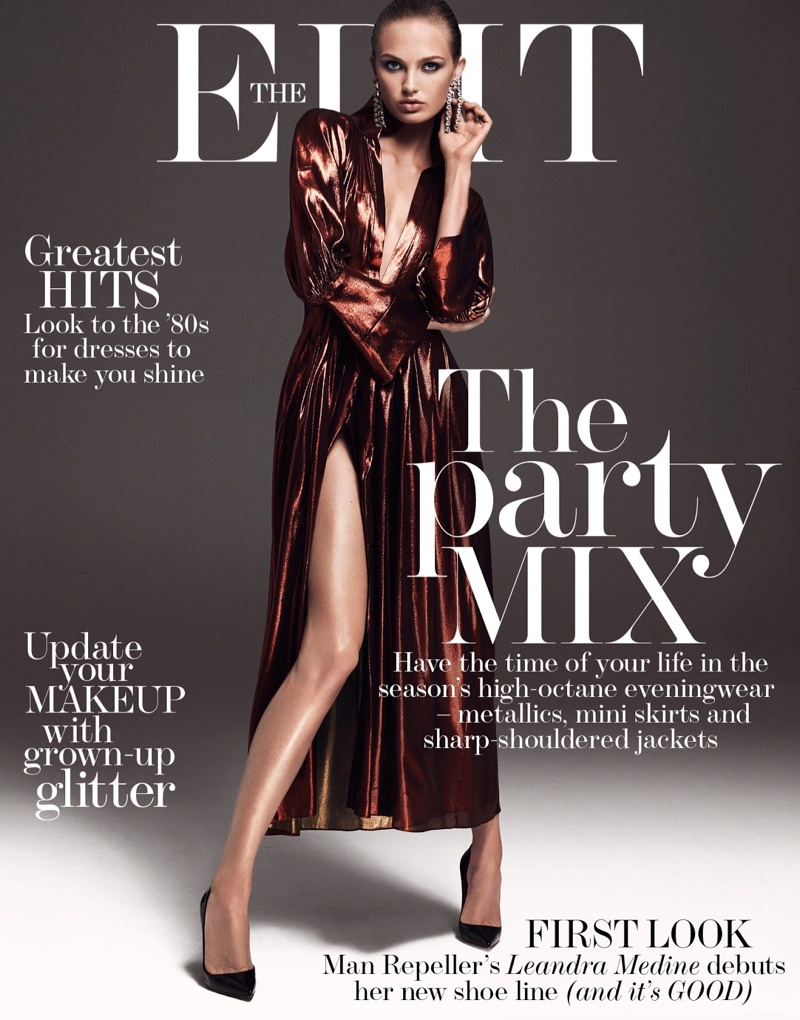 Romee Strijd on The Edit October 27th, 2016 Cover
