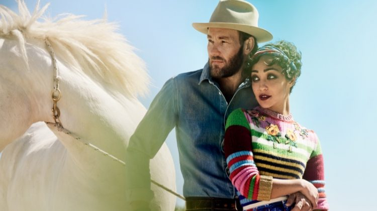 'Loving' Stars Ruth Negga & Joel Edgerton Get Romantic for Vogue Magazine