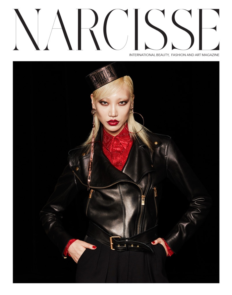 Soo Joo Park on Narcisse Magazine Fall/Winter 2016 Cover