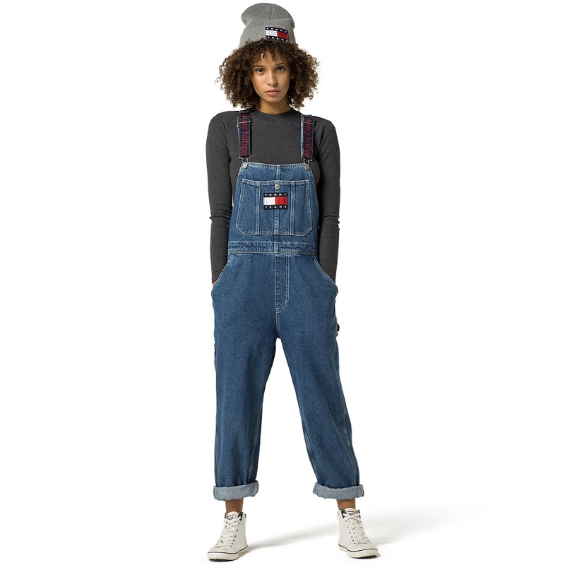 Tommy Jeans Denim Overalls