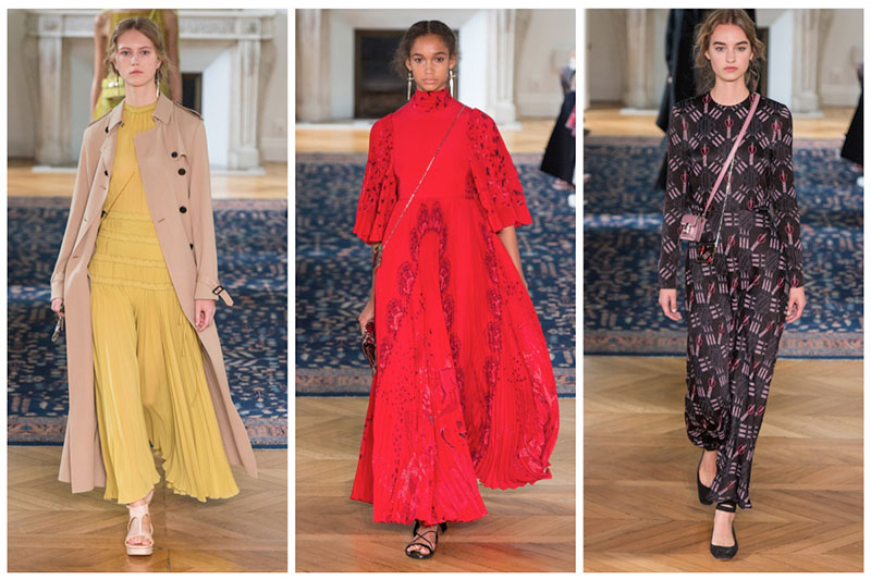 Valentino Introduces Pierpaolo Piccioli's First Solo Collection for Spring 2017