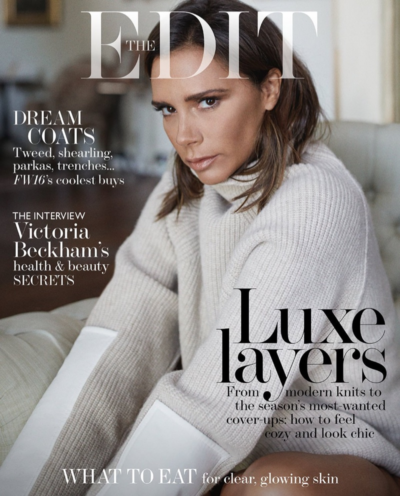 Victoria Beckham on The Edit October 2016 Cover
