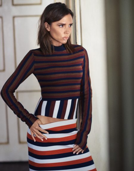 Victoria Beckham Stars in The Edit, Talks Makeup Collaboration
