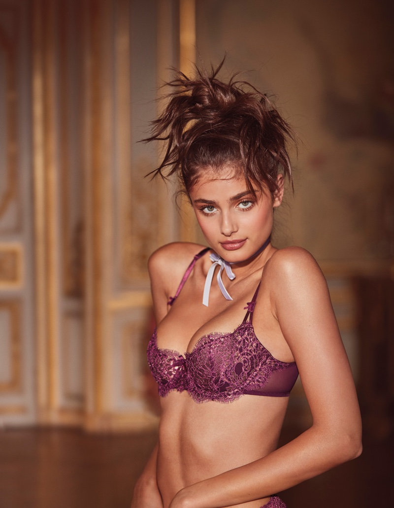 7297729841 ... Cropped Bustier Uplift Lace Bra Taylor Hill models Victoria s Secret  Beautiful Unlined Uplift Lace Bra