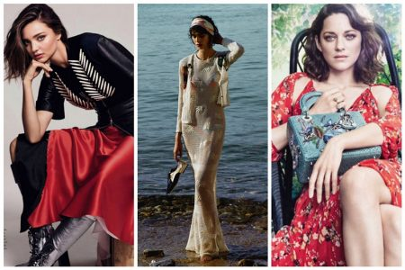 Week in Review | Miranda Kerr's Latest Cover, Chanel Unveils Cruise Campaign, Marion Cotillard for Lady Dior + More