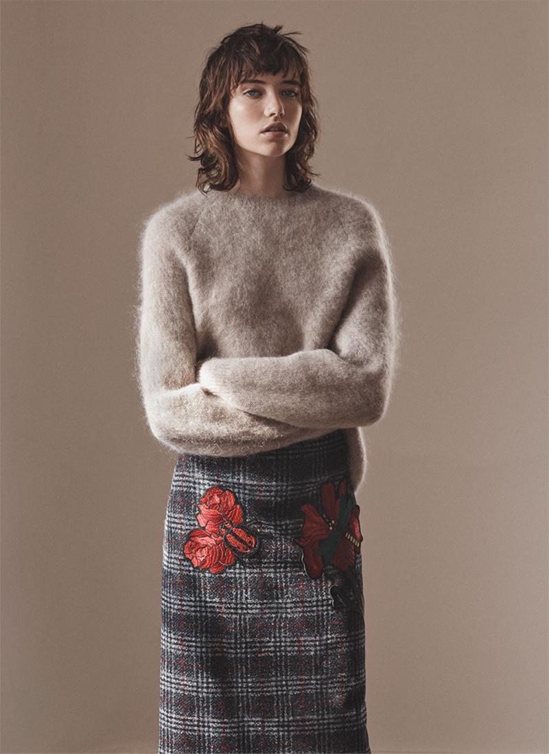 Zara Knitwear Fall / Winter 2016 Lookbook