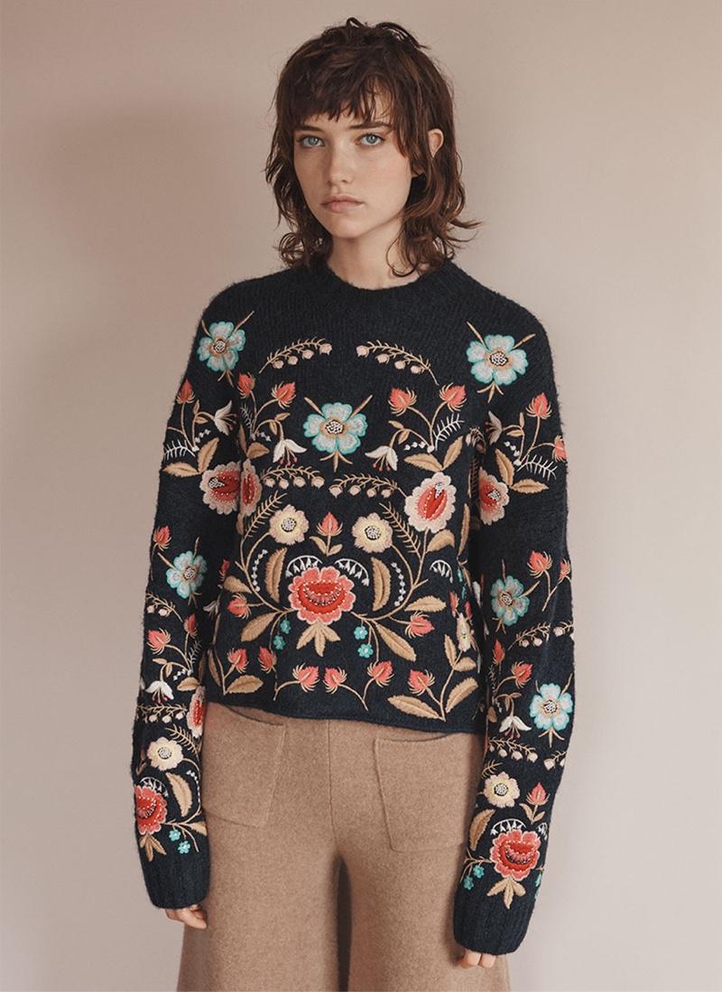 Zara Knitwear Fall Winter 2016 Lookbook