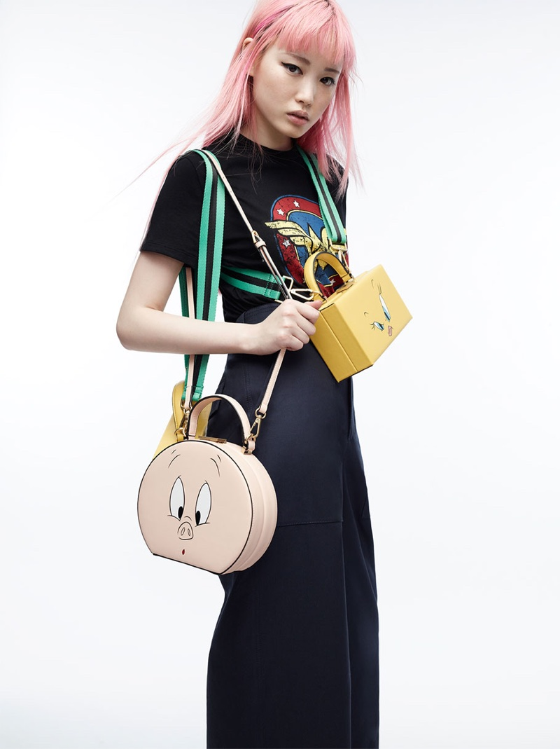 Zara x Wonder Woman T-Shirt and Looney Tunes Minaudiere