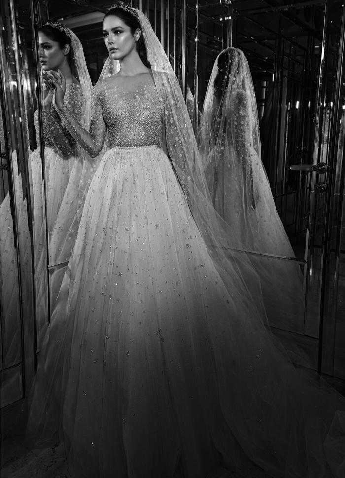Zuhair Murad Bridal Fall 2017: Valaya dress with overskirt