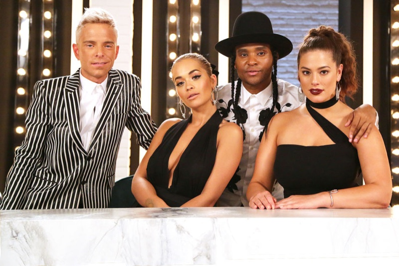 Meet America's Next Top Model's new panelists: Rita Ora, Ashley Graham, Drew Elliott and Law Roach