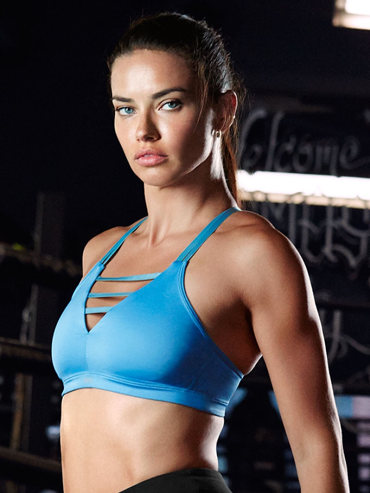 fe0c198195ca7 Adriana Lima & More Angels Work Up a Sweat in Victoria Sport ...
